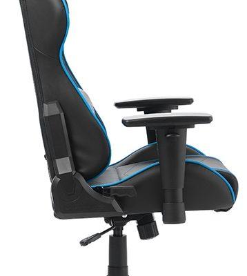 DXRacer Formula-series Game&Bureaustoel – Zwart/Blauw PU   8719874349826