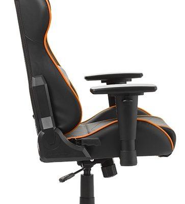 DXRacer Formula-series Game&Bureaustoel – Zwart/Oranje PU   8719874349840