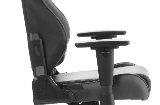 DXRacer Racing-series Game&Bureaustoel – Zwart/Grijs PU   8719172346145