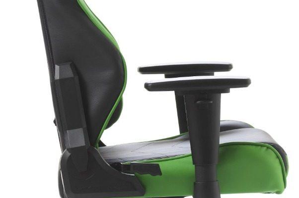 DXRacer Racing-series Game&Bureaustoel – Zwart/Groen PU   8719172346107
