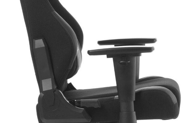 DXRacer Racing-series Game&Bureaustoel – Zwarte Stof – Zwart PU   8719874349888