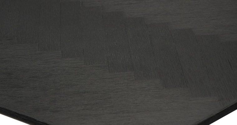 Dan-Form Bone Tafel 220x100x75 – Zwart Gebeitst Essenhout   5710172074314