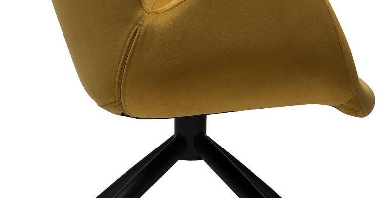 Dan-Form Gaia Loungefauteuil – Brons Fluweel | 5710172073676