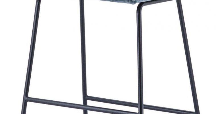 Eleonora Ruby Barkruk – Set Van 2 – Zithoogte 74 Cm – Blauw Adore | 8719087023551