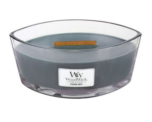 Woodwick Evening Onyx Hearthwick Ellipse Candle   76050E   Woodwick