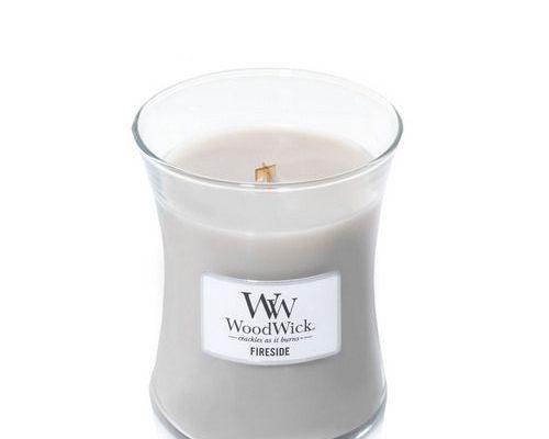 Woodwick Fireside Medium Candle   92106E   Woodwick