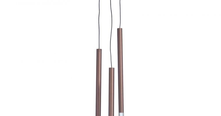 Hanglamp Loki 3-lichts Koper