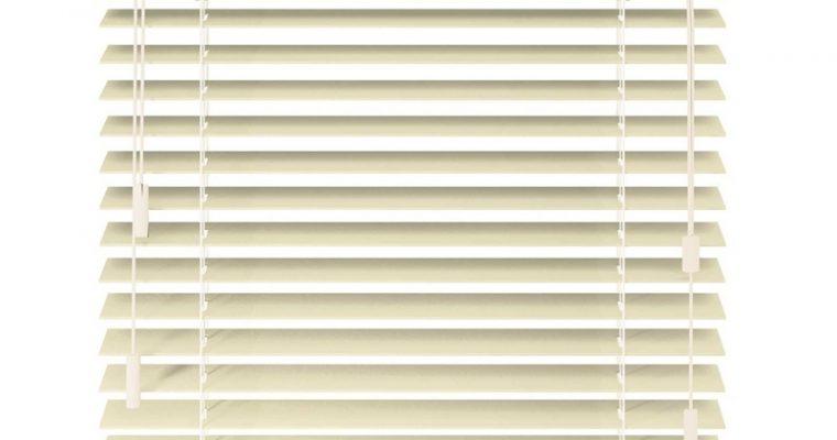 Houten Jaloezie Jiska Off-white 50mm