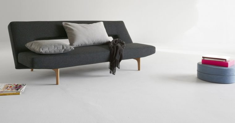 Innovation Slaapbank Puzzle Wood – Twist Black 564 Zwart | 8720143240881
