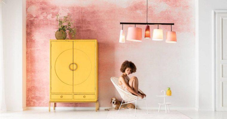Kare Design Disk Yellow Kledingkast – 120x55x180 – Geel | 4025621827726