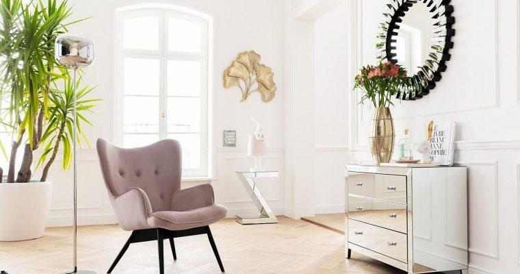 Kare Design Fauteuil Vicky – Fluweel Roze – Zwarte Houten Poten | 4025621826101