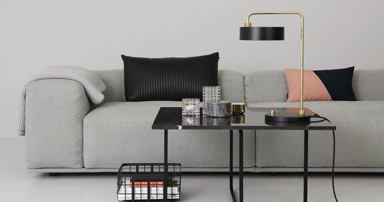 OxDenmarq Salontafel Ninety – L80 X B80 X H35 – Zwart Onderstel – Wit Marmer |