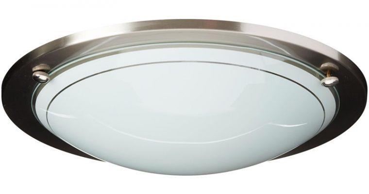 Plafondlamp Athan Nikkel
