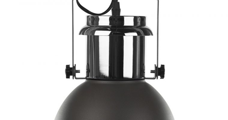 Plafondlamp Industrie Grijs