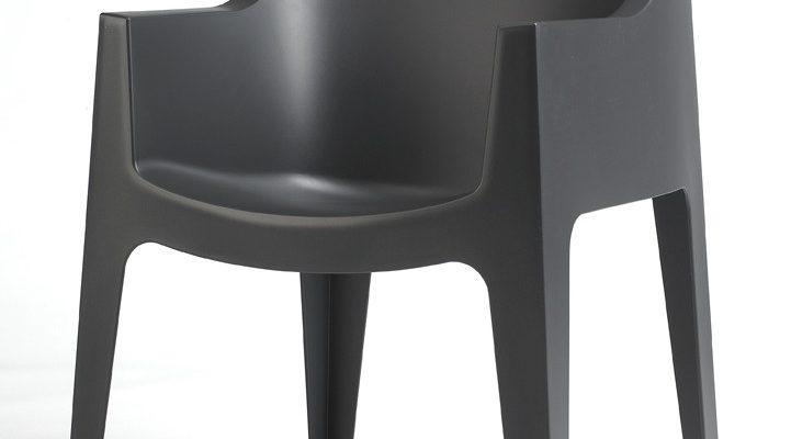 SCAB Coccolona Set 4 Design Stoelen – Antraciet Grijs | 8718692429475