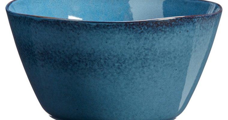 Saladekom Glaze Blauw