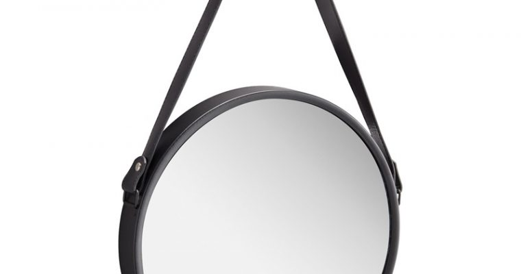 Spiegel Terlan Zwart