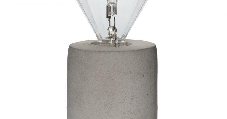 Tafellamp Charis Grijs