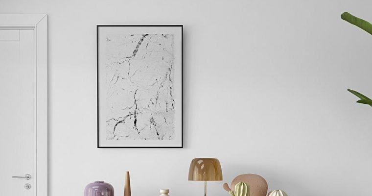 TemaHome Dann Dots Dressoir Eiken – 201x45x65 – Wit/Antraciet – Metalen Poten | 5603449402647