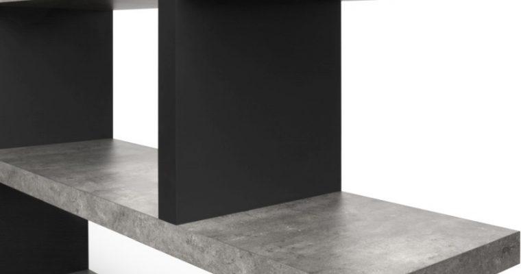 TemaHome Step Low Plankenkast – 163x36x88 – Grijs | 5603449320224