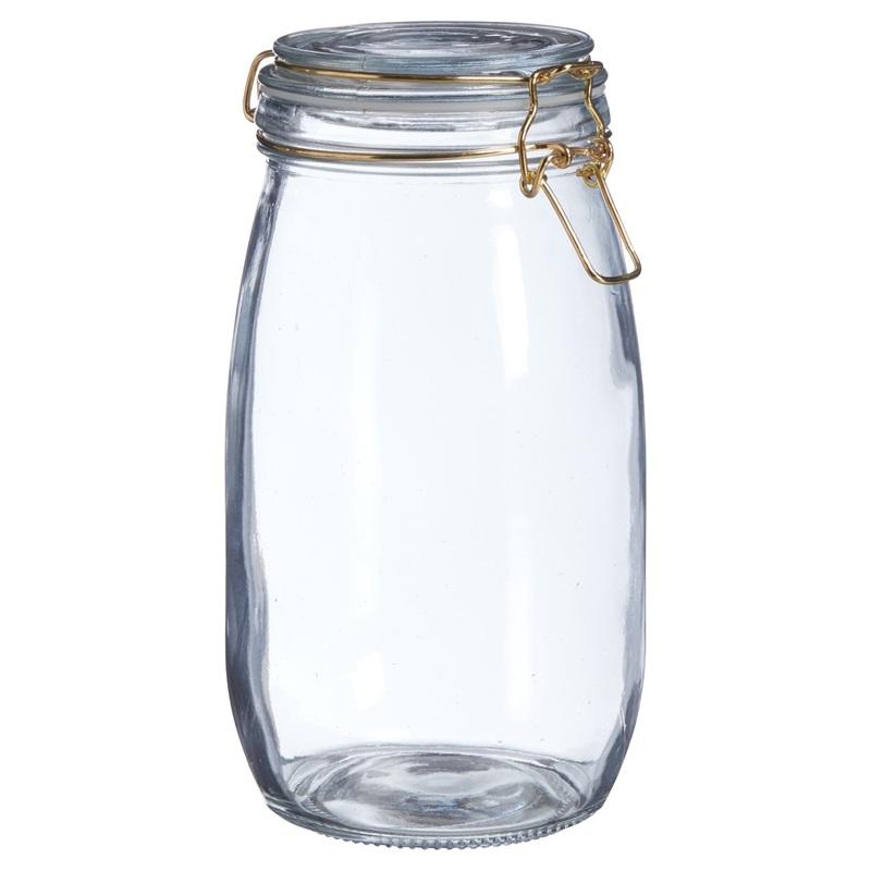 Voorraadpot Glas