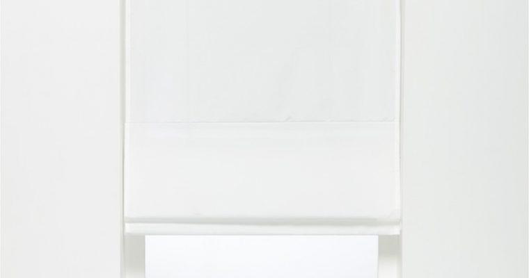 Vouwgordijn Charlot Wit