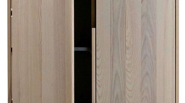 WOOOD Silas Kast 2-deurs – Essenhout Geborsteld – Sydney   8714713082827