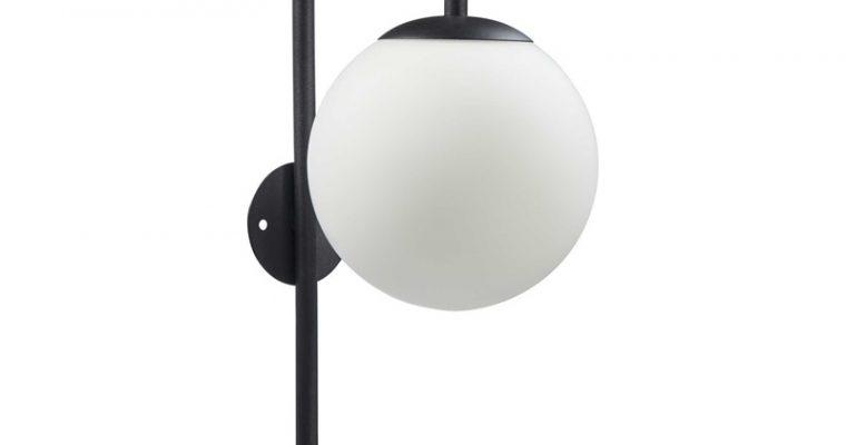 Wandlamp Aquari Zwart