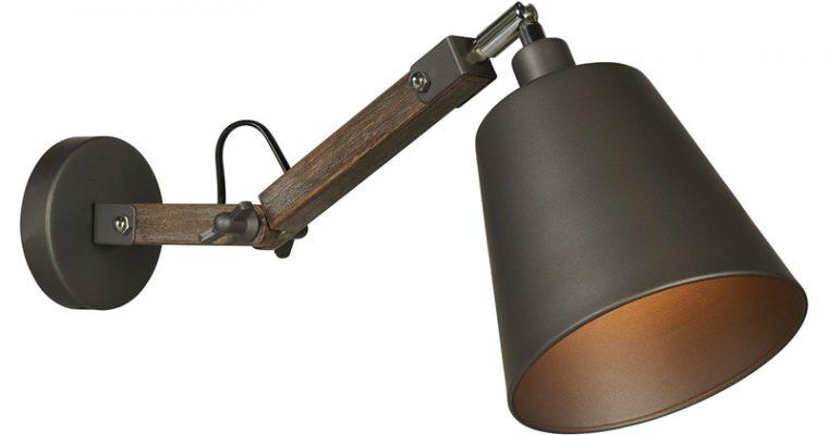 Wandlamp Ares Grijs