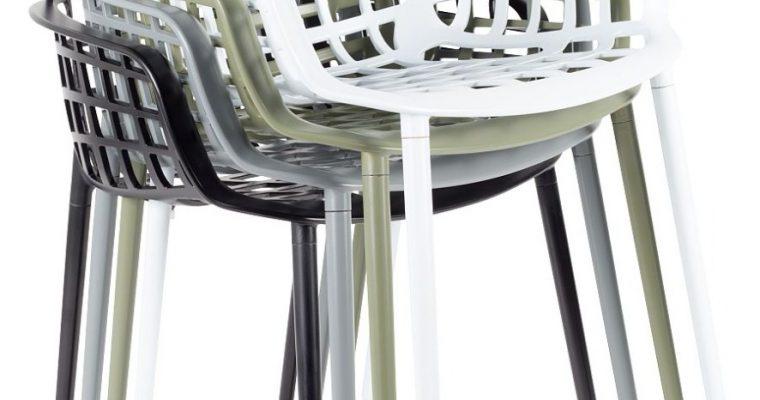 Zuiver Albert Kuip Tuinstoelen Zwart – 6 Stoelen Set Aanbieding + 6 Gratis Zitkussens   8720143242328