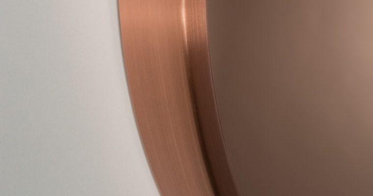 Zuiver Bandit Spiegel -Ø60×5 – Koper | 8718548032453