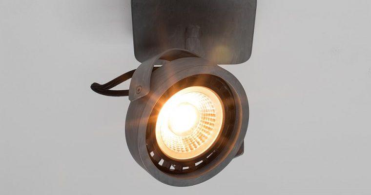 Zuiver Dice-1 Plafondspot – DTW Dim To Warm Dimbare LED – Gegalvaniseerd Grijs   8718548048560