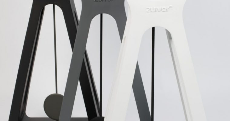 Zuiver Humongous Vloerklok – 38x24x97 – Zwart | 8718548040175
