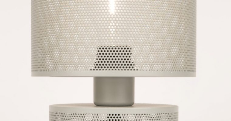 Zuiver Tafellamp Grid – Grijs   8718548031951