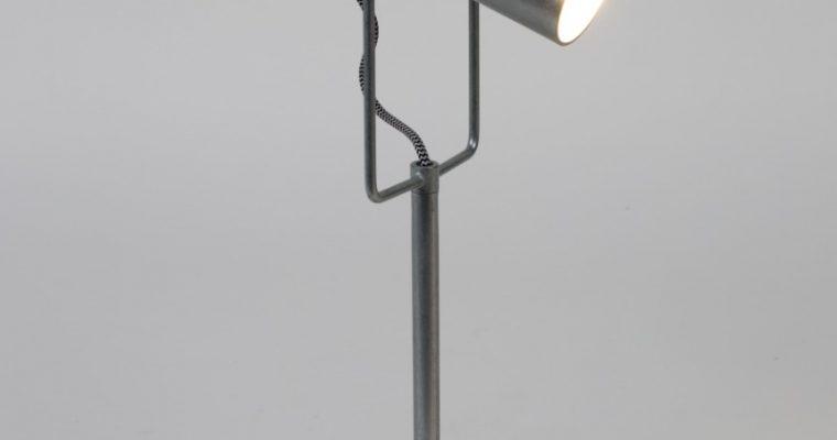 Zuiver Tafellamp Marlon – Zilverkleurig   8718548038905