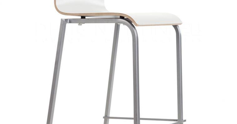 24Designs Barkruk Parma – Hoge Rug – Zithoogte 83 Cm – Wit | 8718692421622
