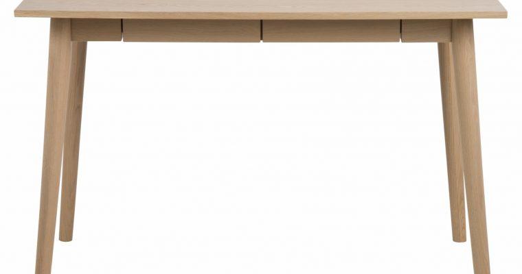 24Designs Bureau Nadine – 120x60x75 Cm – Eiken White Wash | 8719172348484