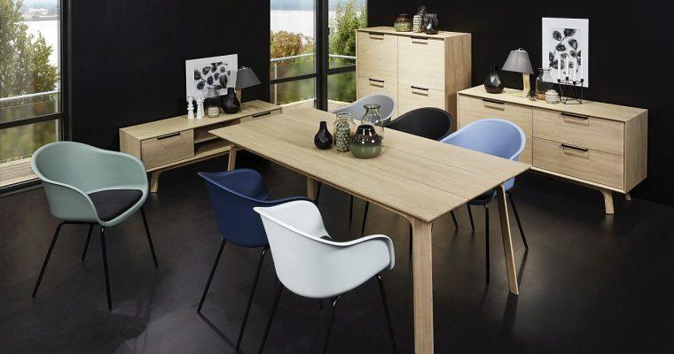 24Designs Dressoir Haslund 1Deur/2 Laden – 150x45x75 – Eiken | 8720143241413
