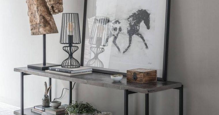 24Designs Mont Blanc TV-Meubel – 140x40x50 – Donkergrijs Bazalt – Metalen Poten   8720146540056