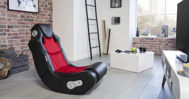 24Designs Racer – Racestoel Gamestoel – Bluetooth&Speakers – Zwart / Rood   8719323478282