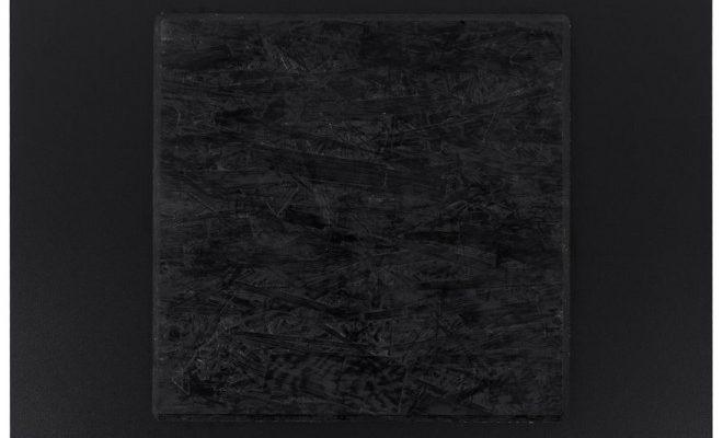 24Designs Tafelblad Vierkant Profi – Zwart – 60 X 60 Cm   8719172345018