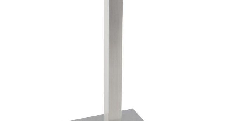 24Designs Tafelonderstel Jim – Hoogte 110 Cm – RVS | 8718692427174