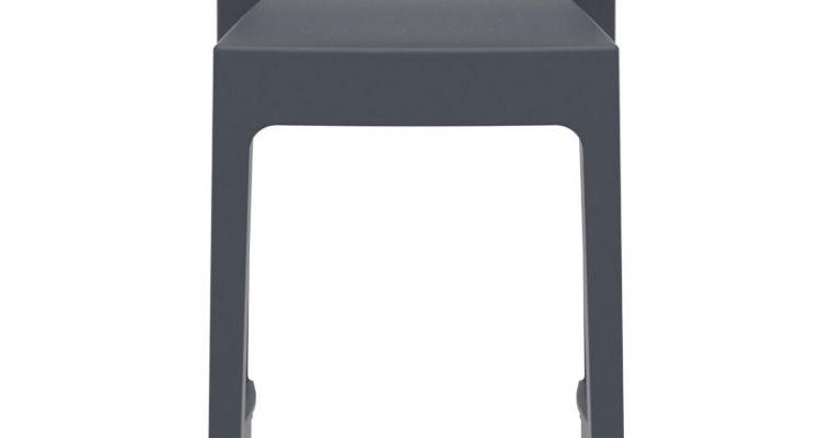 24Designs Tuinbarkruk Maggy – Zithoogte 75 Cm – Donkergrijs Kunststof | 8719323479883