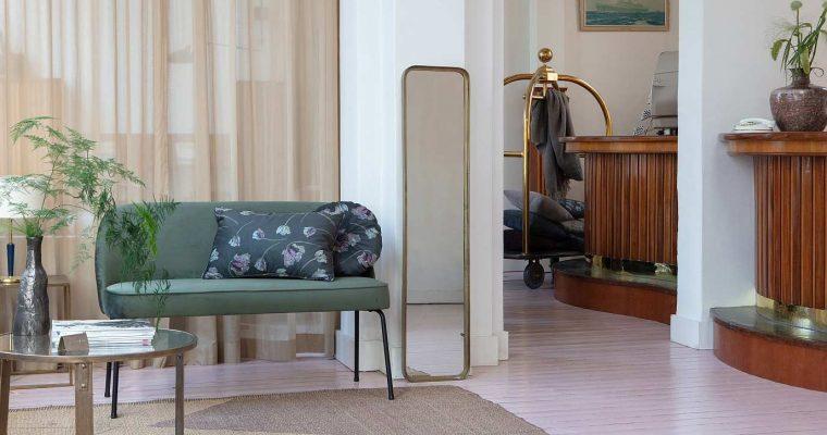 BePureHome Vogue Eetbank – B120 X D59 X H82.5 Cm – Fluweel Mosterd | 8714713101061