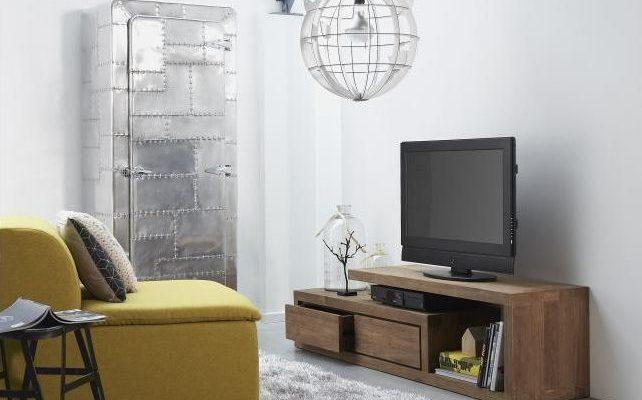 D-Bodhi TV Meubel Lekk – L175 X B40 X H45 – 2 Laden – Teakhout   8720146538503