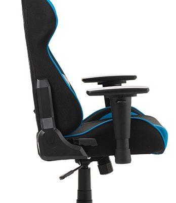 DXRacer Formula-series Game&Bureaustoel – Zwarte Stof – Blauw PU   8719172343762