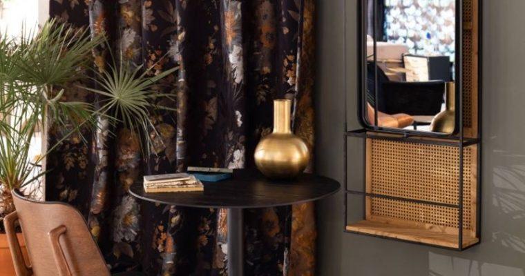 Dutchbone Langres L Spiegel – B53xD15xH165 Cm – Zwart Metaal | 8718548049567