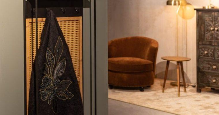 Dutchbone Langres M Spiegel – B53xD15xH165 Cm – Zwart Metaal | 8718548049550