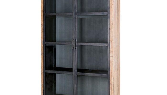 Eleonora Vitrinekast 'Geneve' met 2 deuren | 8719087020376