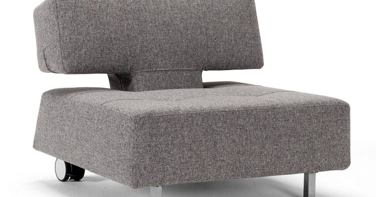 Innovation Fauteuil Long Horn Excess – Stof Twist Granite 565 Grijs | 8720143240270